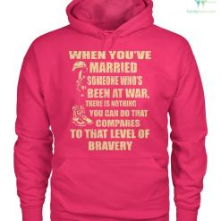 familyloves.com When you've married someone who's been at war... men, women t-shirt, hoodie %tag