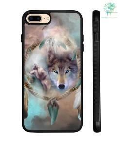 Wolf Dream Catcher Samsung, IPhone Case %tag familyloves.com