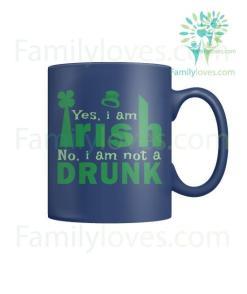 YES, I AM IRISH - MUGS St. Patricks shirt, St. Patrick's Day shirt, St. Patricks day, St Pattys day shirt, Sizes S-5XL %tag familyloves.com