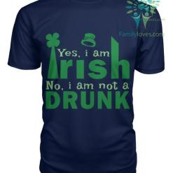 familyloves.com YES I'M IRISH - NO, I'M NOT A DRUNK St. Patricks shirt, St. Patrick's Day shirt, St. Patricks day, St Pattys day shirt, Sizes S-5XL %tag