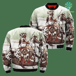 familyloves.com Bev Doolittle Native American Over Print Jacket %tag