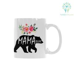 familyloves.com Mama Bear 1 Classical White Mug (11 OZ) (Made In USA) %tag