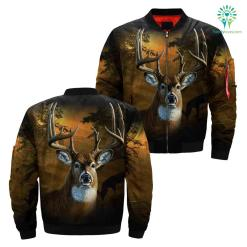 Deer hunting camo all over print jacket 2 payment shipping %tag familyloves.com