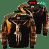 familyloves.com Lord's Prayer Over Print Jacket %tag