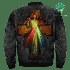 familyloves.com God's Mercy Words Over Print Jacket %tag
