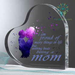 I am proud of many things in life but nothing beats being a mom Heart Keepsake %tag familyloves.com