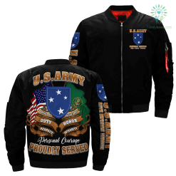 23rd Infantry Division Over U.S Army Print Jacket %tag familyloves.com