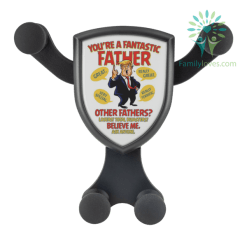 You're A Fantastic Father. Great, really great, very special, really terrific... Wireless Car Charger %tag familyloves.com