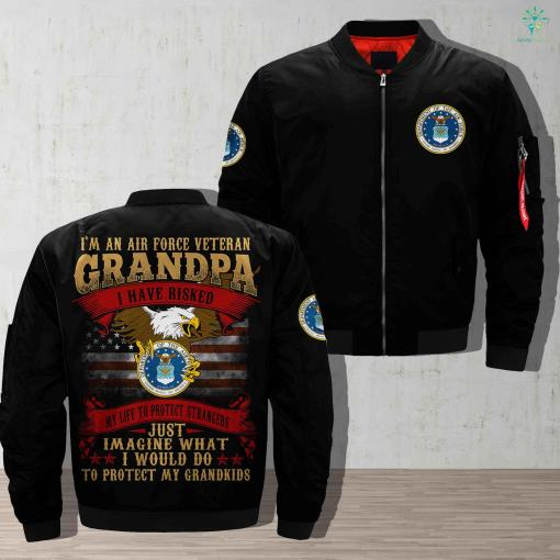 Directorate of Air veterans Over Print Jacket %tag familyloves.com