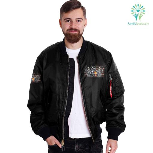 I didn't go to harvard I went to FT Leonard wood Over Print Jacket 1 %tag familyloves.com