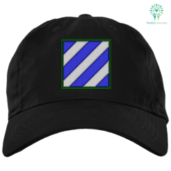 U.S. Army 3rd Infantry Division 2¼ Military Embroidery Patch Dad Cap %tag familyloves.com