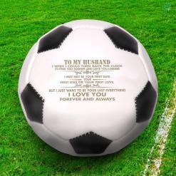 To my husband i wish i could turn back...love Soccerball %tag familyloves.com