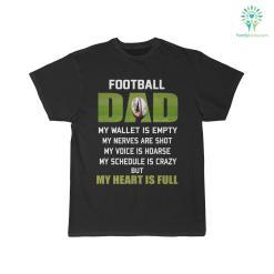 Football Dad My Wallet Is Empty Shirt %tag familyloves.com