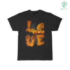Love Halloween Football Shirt %tag familyloves.com