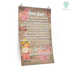 One Day, When My Children Are Grown Posters Gifts For Mom %tag familyloves.com