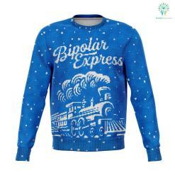 Bipolar Express - Athletic Sweatshirt %tag familyloves.com