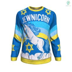 Jewnicorn UGLY CHRISTMAS SWEATER %tag familyloves.com