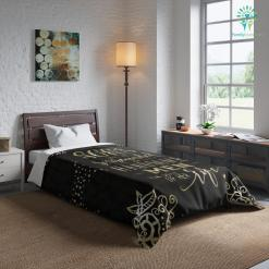 A Woman With All Sons Comforter Gift %tag familyloves.com