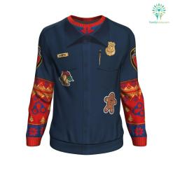 Police Navidad UGLY CHRISTMAS SWEATER %tag familyloves.com