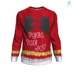 Feel The Joy UGLY CHRISTMAS SWEATER %tag familyloves.com