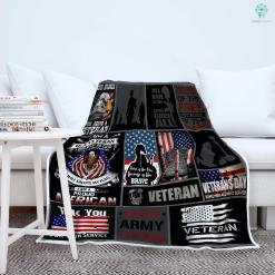 U.S. Army corps of engineers Sherpa Fleece Blanket %tag familyloves.com