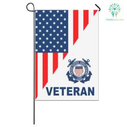 COAST GUARD GARDEN FLAG COAST GUARD VETERAN %tag familyloves.com