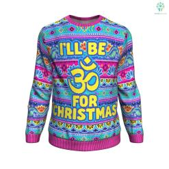 Ohm For Christmas UGLY CHRISTMAS SWEATER %tag familyloves.com