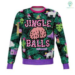 Jingle Balls - Athletic Sweatshirt %tag familyloves.com