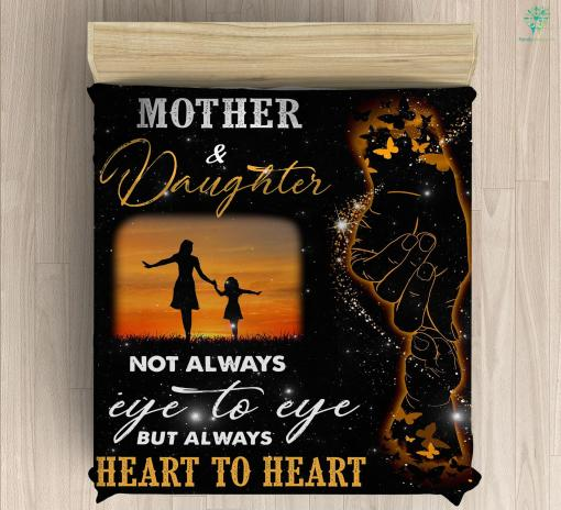 Mother And Daughter Microfiber Duvet Cover Gift %tag familyloves.com