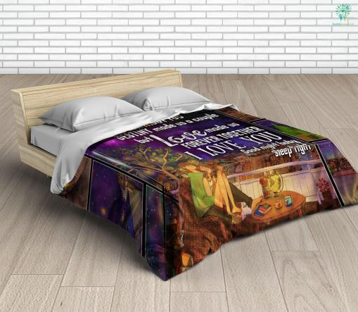 To My Wife Microfiber Duvet Cover Gift %tag familyloves.com