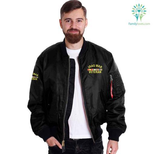 Iraq veteran - i walked the walk iraq veteran jacket %tag familyloves.com