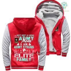 Army mom hoodie - i am not just a mom i am an army %tag familyloves.com