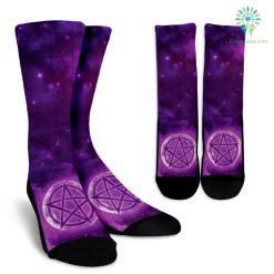 Wicca Style 2 Crew Socks %tag familyloves.com