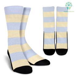 Strip-Classic-B-001 Crew Socks %tag familyloves.com