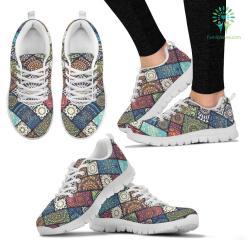 Colorful Mandala Women`s Sneakers %tag familyloves.com