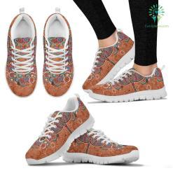Paisley Dragonfly Sneakers. %tag familyloves.com