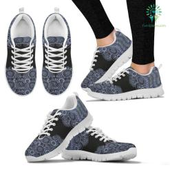 Paisley Mandala 2 Sneakers. %tag familyloves.com
