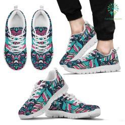 Boho Style Men`s Sneakers %tag familyloves.com