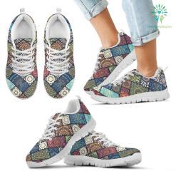 Colorful Mandala Kid`s Sneakers %tag familyloves.com