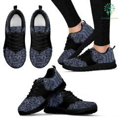 Paisley Mandala 2 Sneakers %tag familyloves.com