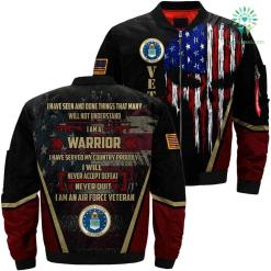 I have seen and done things proudly Air Force 3D full print jacket %tag familyloves.com