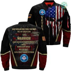 I have seen and done things proudly Coast Guard 3D full print jacket %tag familyloves.com