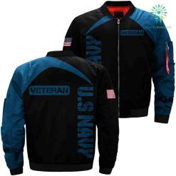 US Navy veteran 3D full print jacket