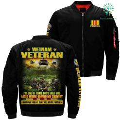 Vietnam veteran i served my country Over Print Jacket %tag familyloves.com