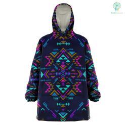 Native Colors - Snug Hoodie %tag familyloves.com