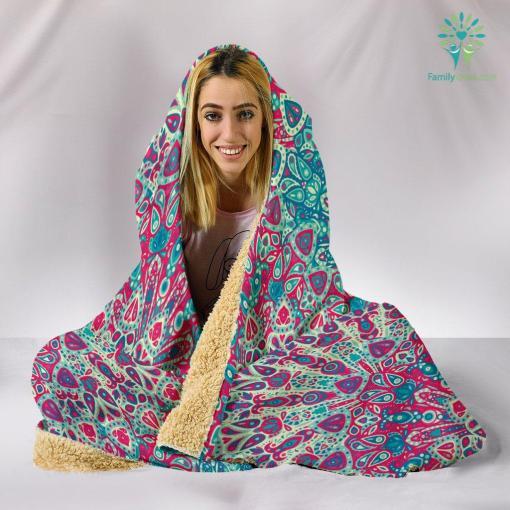 Beautiful Boho Hooded Blanket %tag familyloves.com