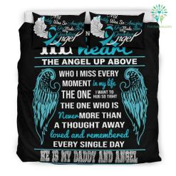 He Is My Daddy And Angel Bedding Set %tag familyloves.com