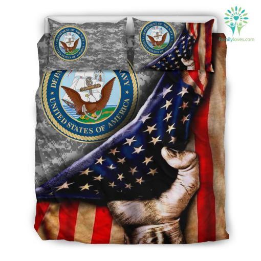 US NAVY AMERICAN FLAG BEDDING SET %tag familyloves.com