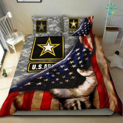 US ARMY AMERICAN FLAG BEDDING SET %tag familyloves.com