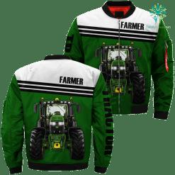 Famer tractor love Job title 3d print jacket %tag familyloves.com